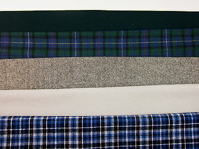 PENDLETON 100%  WOOL FABRIC WASHED/FELTED  Rug Making, QUILTING