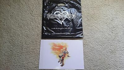 Kingdom Hearts 2.5 Lithograph Walt Disney Studios Exclusive (ONLY RECIEVED THER)