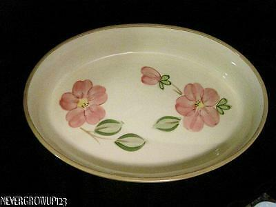 "Franciscan Desert Rose 12"" Oval Baker~Gratin Dish~New With Tags"
