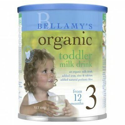 DJP NEW Bellamy's Step 3 Organic Toddler Milk Drink 400g