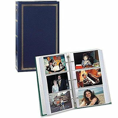 "3ring pocket BURGUNDY album for 504 photos 4""X6"", New, Free Shipping"