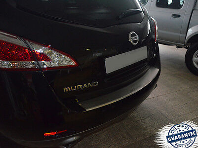 NISSAN MURANO Z51 2009-2014 Rear Bumper Profiled Protector Stainless Steel Cover