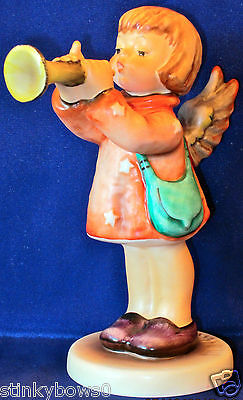 "Cute Goebel M. I. Hummel Angel Figurine, ""little Gabriel"", Hum 32, 5"", Hbv* $170"