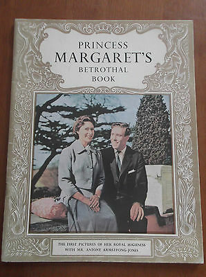 PRINCESS MARGARETS BETROTHAL BOOK Pitkin Pictorial PAPERBACK Book