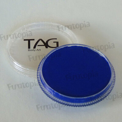 TAG Body Art 32g Pot Regular Royal Blue Professional Face & Body Paint - Make up