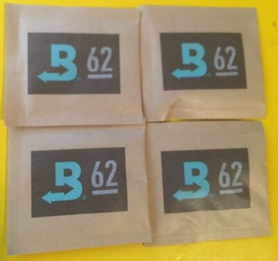 Boveda 62% RH 2-Way Humidity Control, Large 8 gram, 4-Pack