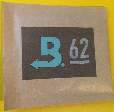 Boveda 62% RH 2-Way Humidity Control, Large 8 gram, 6-pack