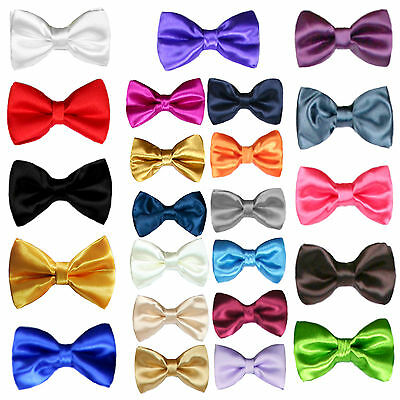 Satin Bow Tie Baby Toddler KidS Teen BoyS Formal Tuxedo SuitS 23 color Selection