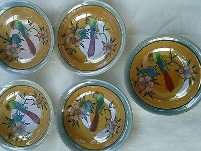 Set of four nippon bowls