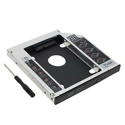 Universal SATA To SATA 2nd Hard Drive 12.7mm Caddy CD/DVD-ROM With Screwdriver