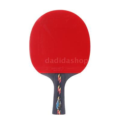 Professional Table Tennis Racket Ping Pong Paddle Bat Case Bag Outdoor Game VA0Y
