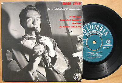 """Terry Lightfoot More Trad Columbia 7"""" EP"""