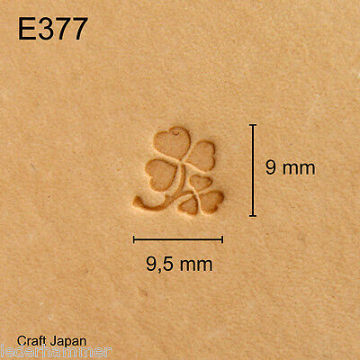 Punziereisen, Lederstempel, Punzierstempel, Leather Stamp, E377 - Craft Japan