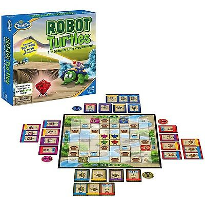 Robot Turtles: a board game for little programmers by Thinkfun, programming game