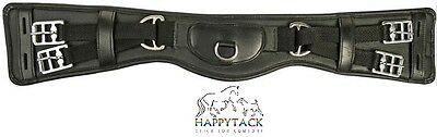 New HKM CALF LEATHER Humane Dressage ANATOMIC shaped curved girth nonelasticated