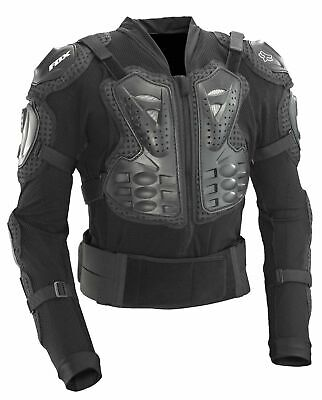 New 2018  Fox Titan Sport Black Mx Body Armour Jacket Suit Mx Enduro Pitbike