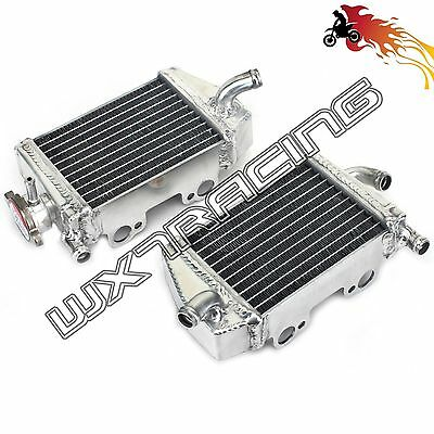 Motorcycle Left & Right Aluminum Offroad Radiator for KTM SX65 2009 - 2015
