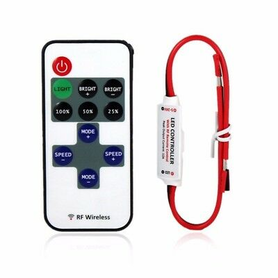 Mini LED Controller Dimmer with RF Wireless Remote Control