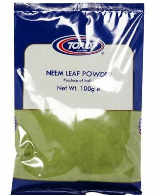 100% Pure/Ground Neem Leaves Powder Grade A quality Product limda powder100g