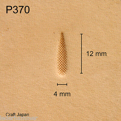 Punziereisen, Lederstempel, Punzierstempel, Leather Stamp, P370 - Craft Japan