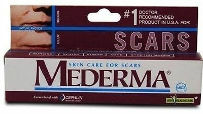 MEDERMA SKIN CARE FOR SCARS GEL/BEST TREATMENT FOR STRETCH MARKS/10gm each