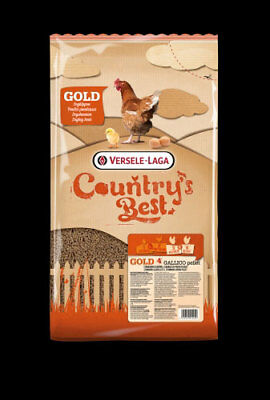 Versele Laga Country´s Best GOLD 4 GALLICO Pellet 5kg
