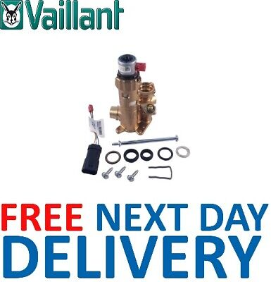 Vaillant ecoTEC Plus 824, 831, 837, 937 Diverter Valve 0020132682 Genuine *NEW*