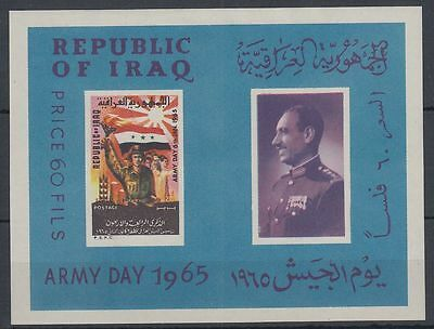 Irak Iraq 1965 ** Bl.6 Tag der Armee Army Day Soldat Soldier Flagge Flag