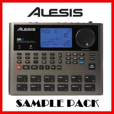 Alesis Sr18 Samples - Midi - Drum Kit Collection E-Mu Emu