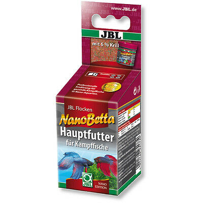 JBL NanoBetta 60ml Fish Flakes Nano Betta for fighting Fish and other Labyrinth