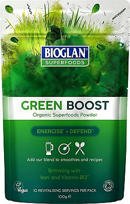 Bioglan Superfoods - Organic Green Boost 100g