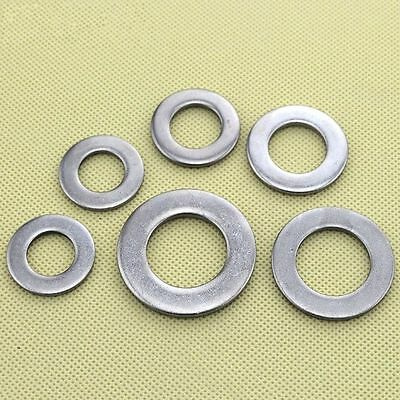 M2 - M24 Flat Washers 316 Stainless Steel GB96
