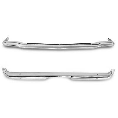 65 66 Ford Mustang Front / Rear Premium Bumper SET, Chrome