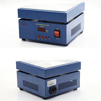 Unmatched! 110V Hot Electronic Hot Plate Preheat Preheating Station 110V 800W