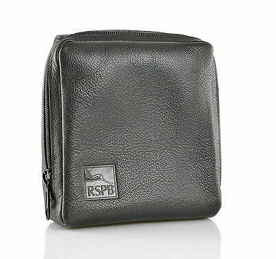 RSPB Leather binocular case large - Z002