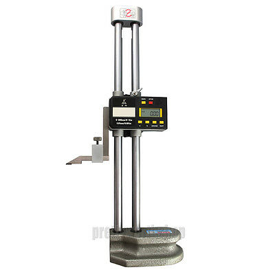 """Digital LCD Display Electronic Dual Beam Height Gage 0-300/500/600MM 12/20/24"""""""