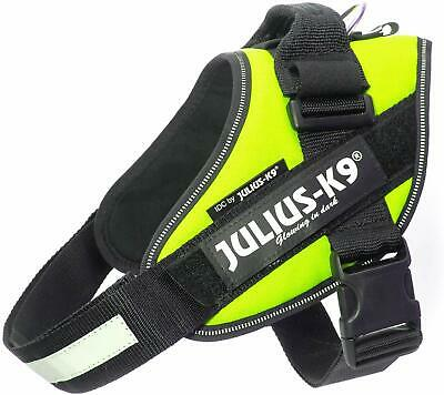 Dog Harness Julius-K9 IDC® Powerharness - Neon Yellow | All Sizes