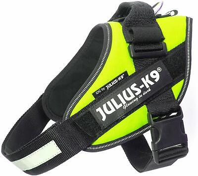 Dog Harness Julius-K9 IDC Powerharness - Neon Yellow | All Sizes