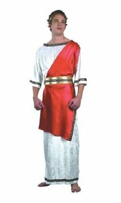 Mens Greek Guy Roman Toga Fancy Dress Costume Adults Outfit (One Size)