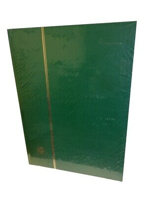 Album for Stamp Collection DIN A4 Book Green Stamp Stock Book Leuchtturm 326594
