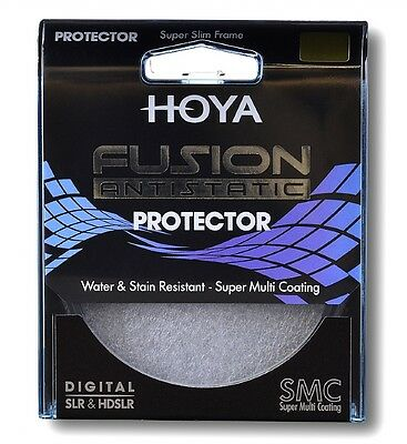 Hoya 58mm 58 mm Fusion Anti-Static 9 Layer Super Multi Coated Protector Filter