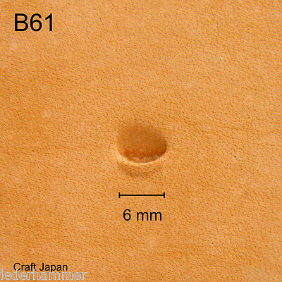 Punziereisen, Lederstempel, Punzierstempel, Leather Stamp, B61 - Craft Japan