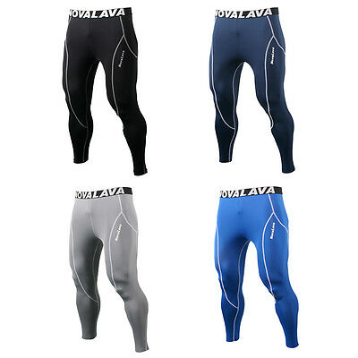 NovaLava Mens Womens Compression Base Layer Running Tights Bottoms Pants Fitness