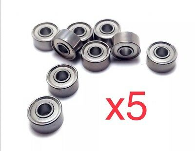 5pcs mr52 mini rodamiento micro l-520zz mr52zz Tamiya Rc Car 2x5x2,5 2*5*2.5 mm
