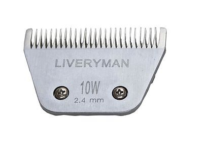 Genuine Liveryman Harmony & Harmony Plus  Horse Clipper Blades 10W (2.4MM)