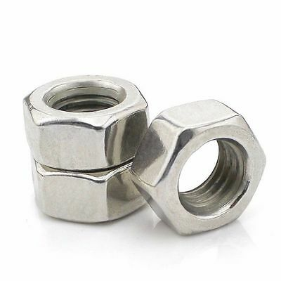 "201 Stainless Steel Hex Nuts UNC/BSW Nuts 6# 8# 10# 1/4"" 3/8"" 5/16"" 1/2"" 5/8"""