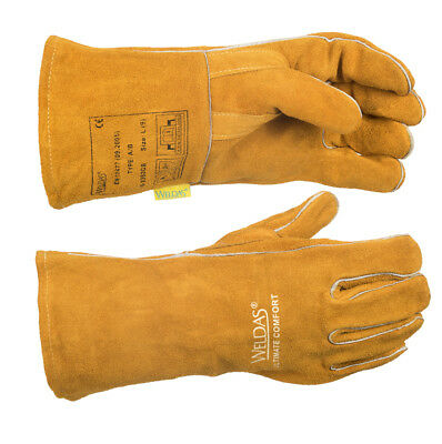 WELDAS Ultimate Comfort Mig/Mag Welding Gloves HIGH QUALITY - Size L & XL