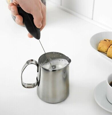 IKEA PRODUKT milk coffee FROTHER FROTHY whisk machine - Free Postage