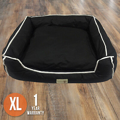 XLARGE Dog Bed Heavy Duty Waterproof Cushion Futon Mat Washable Pet New S M L