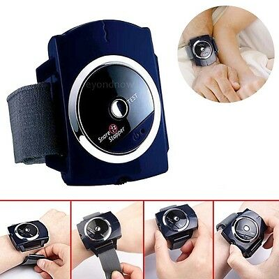 Biofeedback Infrared Intelligent Anti Snoring Wristband Snore Gone Stop